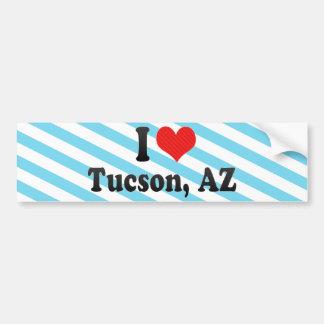Amo Tucson, AZ Pegatina De Parachoque