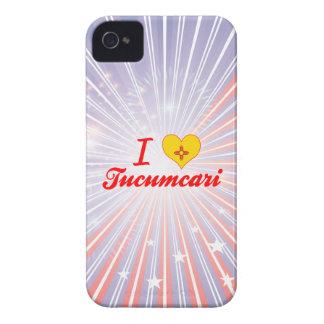 Amo Tucumcari New México iPhone 4 Case-Mate Funda