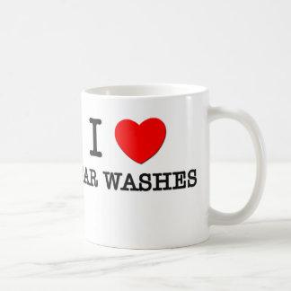 Amo túneles de lavado taza