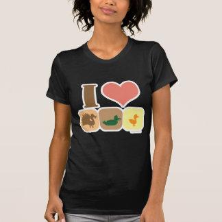 ¡Amo Turducken! Camisetas