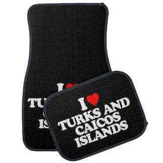 AMO TURKS AND CAICOS ISLANDS ALFOMBRILLA DE AUTO