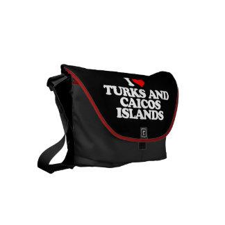 AMO TURKS AND CAICOS ISLANDS BOLSA DE MENSAJERÍA