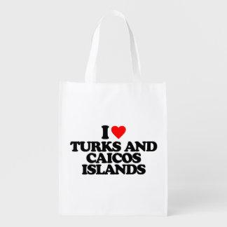 AMO TURKS AND CAICOS ISLANDS BOLSAS PARA LA COMPRA
