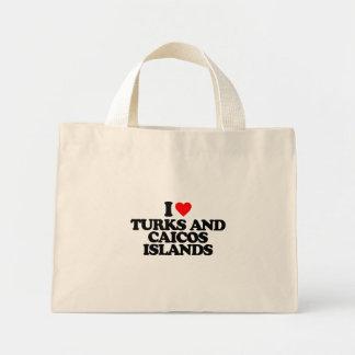 AMO TURKS AND CAICOS ISLANDS BOLSA TELA PEQUEÑA