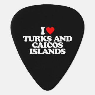 AMO TURKS AND CAICOS ISLANDS PÚA DE GUITARRA