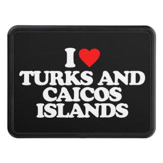 AMO TURKS AND CAICOS ISLANDS TAPA DE REMOLQUE