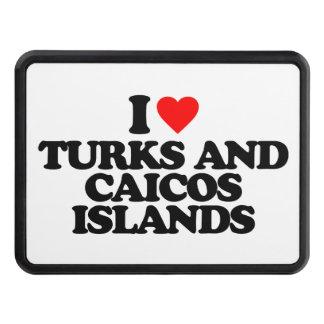 AMO TURKS AND CAICOS ISLANDS TAPAS DE REMOLQUE
