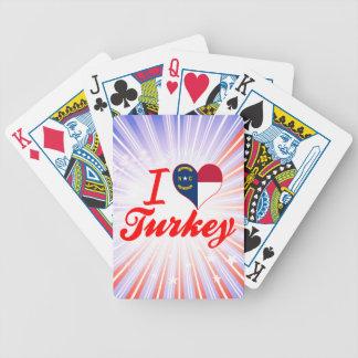 Amo Turquía, Carolina del Norte Cartas De Juego