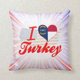 Amo Turquía, Carolina del Norte Almohadas