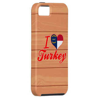 Amo Turquía, Carolina del Norte iPhone 5 Cárcasa