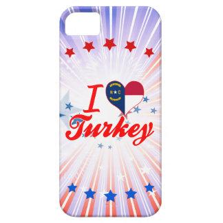 Amo Turquía, Carolina del Norte iPhone 5 Protectores