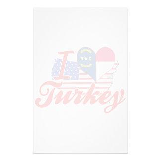Amo Turquía, Carolina del Norte Papeleria