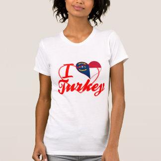 Amo Turquía, Carolina del Norte Camiseta