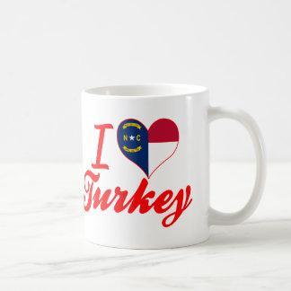 Amo Turquía, Carolina del Norte Taza