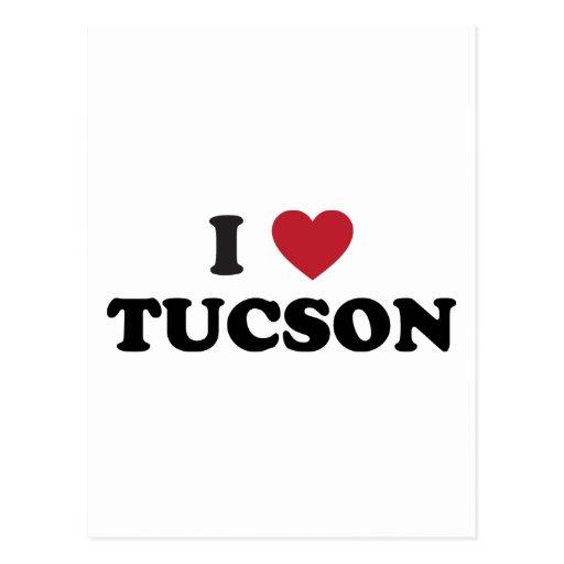 Amo Tuscon Arizona Tarjeta Postal