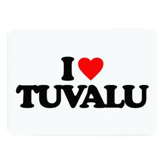 """AMO TUVALU INVITACIÓN 5"""" X 7"""""""