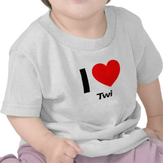 amo twi camiseta