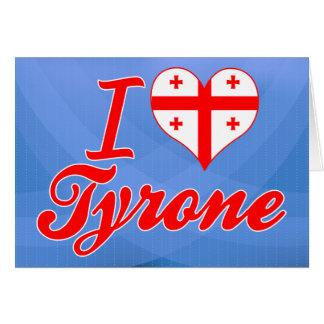 Amo Tyrone, Georgia Felicitaciones