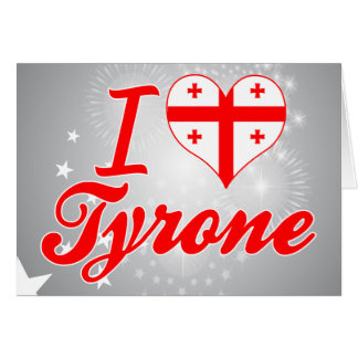 Amo Tyrone, Georgia Tarjetas