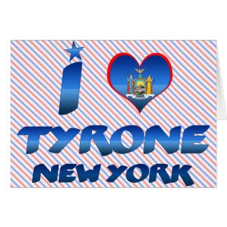 Amo Tyrone, Nueva York Tarjetas