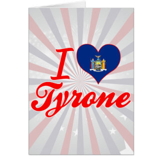 Amo Tyrone, Nueva York Tarjeton