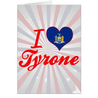 Amo Tyrone, Nueva York Felicitaciones