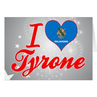 Amo Tyrone, Oklahoma Tarjeta
