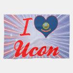 Amo Ucon, Idaho Toalla De Cocina