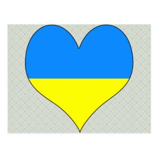 Amo Ucrania Tarjetas Postales