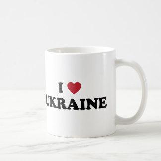 Amo Ucrania Tazas De Café