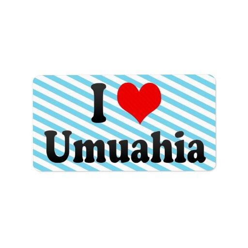 Amo Umuahia, Nigeria Etiquetas De Dirección