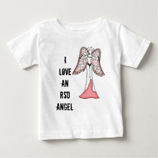Amo un ángel de RSD Playera De Bebé