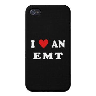 Amo un EMT iPhone 4 Carcasa