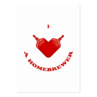 Amo un Homebrewer Plantilla De Tarjeta Personal