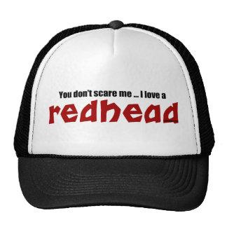 Amo un Redhead Gorras