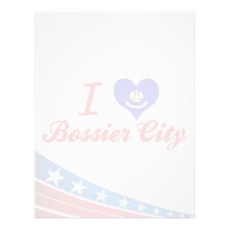 Amo una ciudad mas mandona, Luisiana Membrete Personalizado