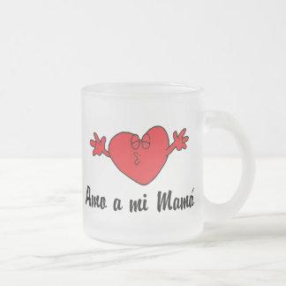 Amo una mamá del MI Tazas De Café