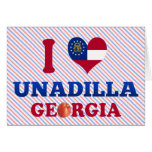 Amo Unadilla, Georgia Felicitaciones