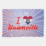 Amo Unionville, Missouri Toalla De Mano