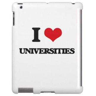 Amo universidades funda para iPad