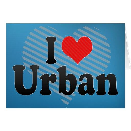 Amo urbano felicitación