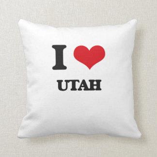 Amo Utah Cojín