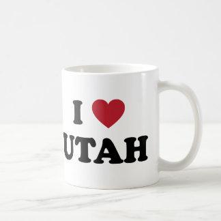 Amo Utah Taza De Café