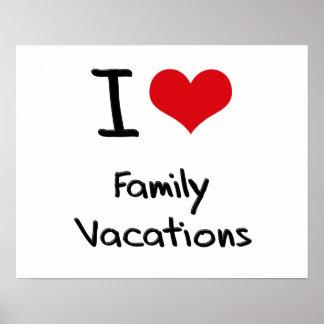 Amo vacaciones de familia poster