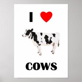 Amo vacas impresiones