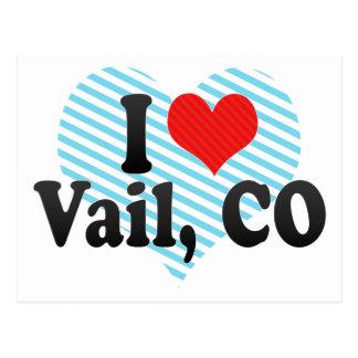 Amo Vail, CO Postales
