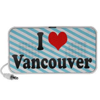 Amo Vancouver, Canadá Laptop Altavoz