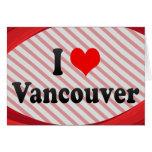 Amo Vancouver, Canadá Felicitacion