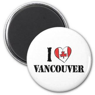 Amo Vancouver Canadá Imán Para Frigorifico