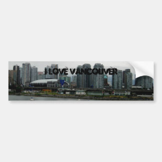 Amo Vancouver Pegatina Para Auto